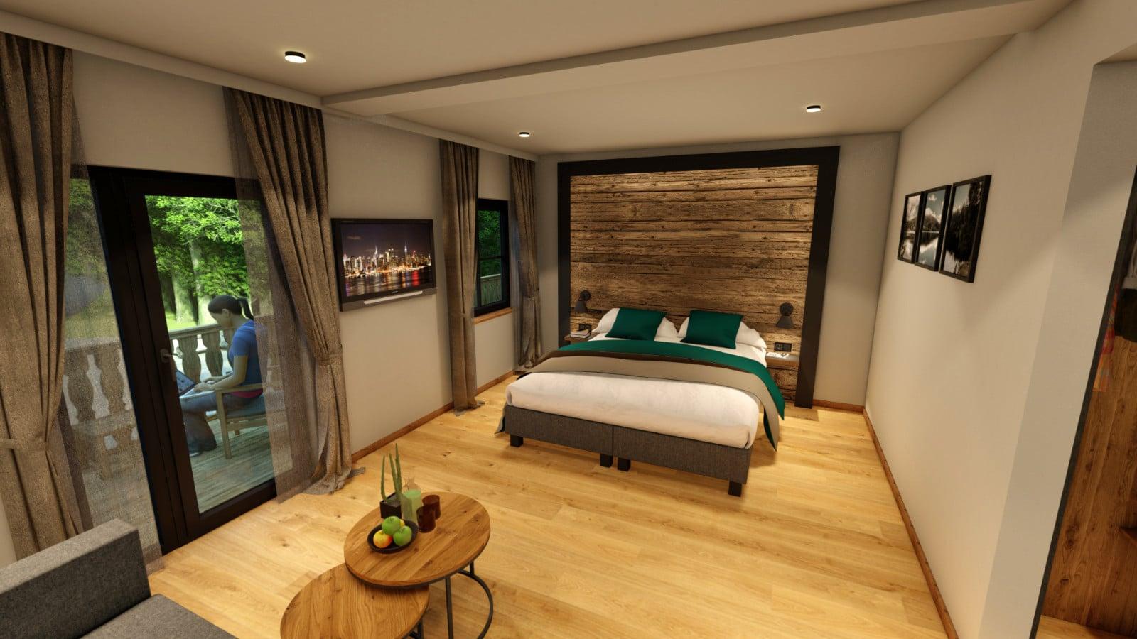 Gemütlich übernachten im Hotel Köhlerei am See