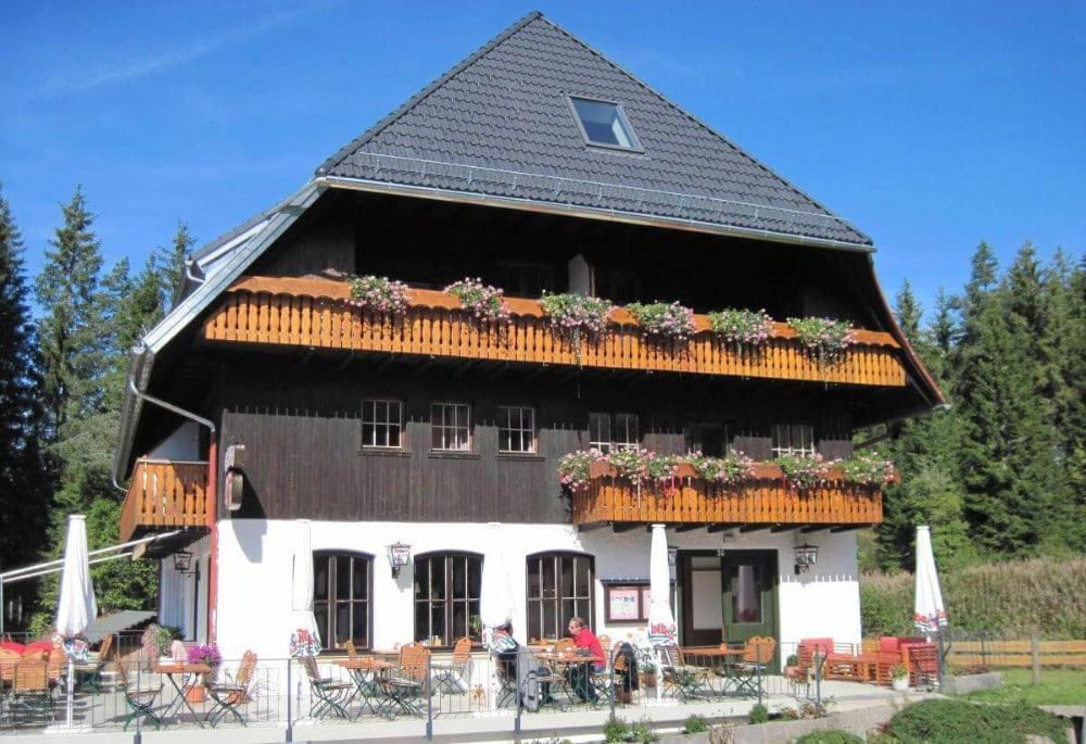 Koehlerei an see Schwarzwald
