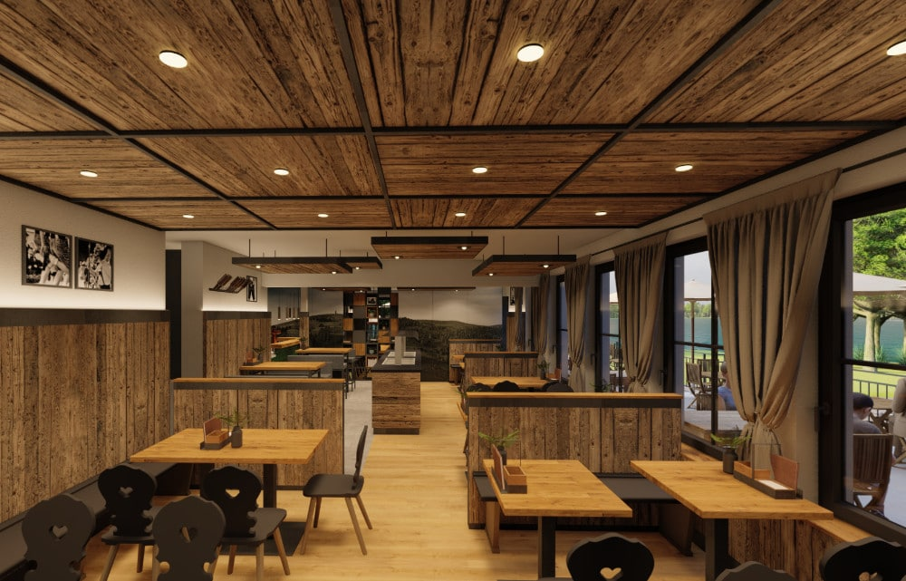 Gastro Brauhaus meets Industrial Style